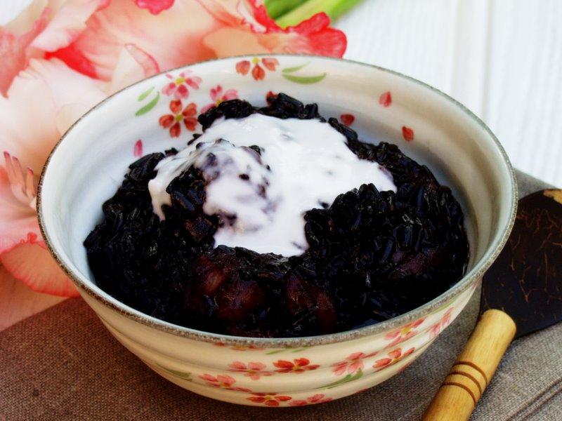balinese black rice pudding