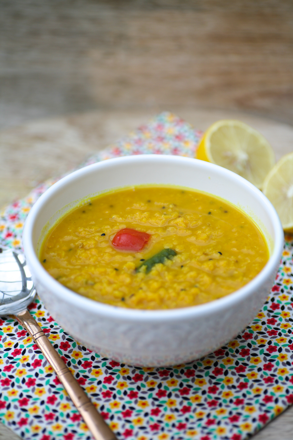 how to cook red split lentils dal