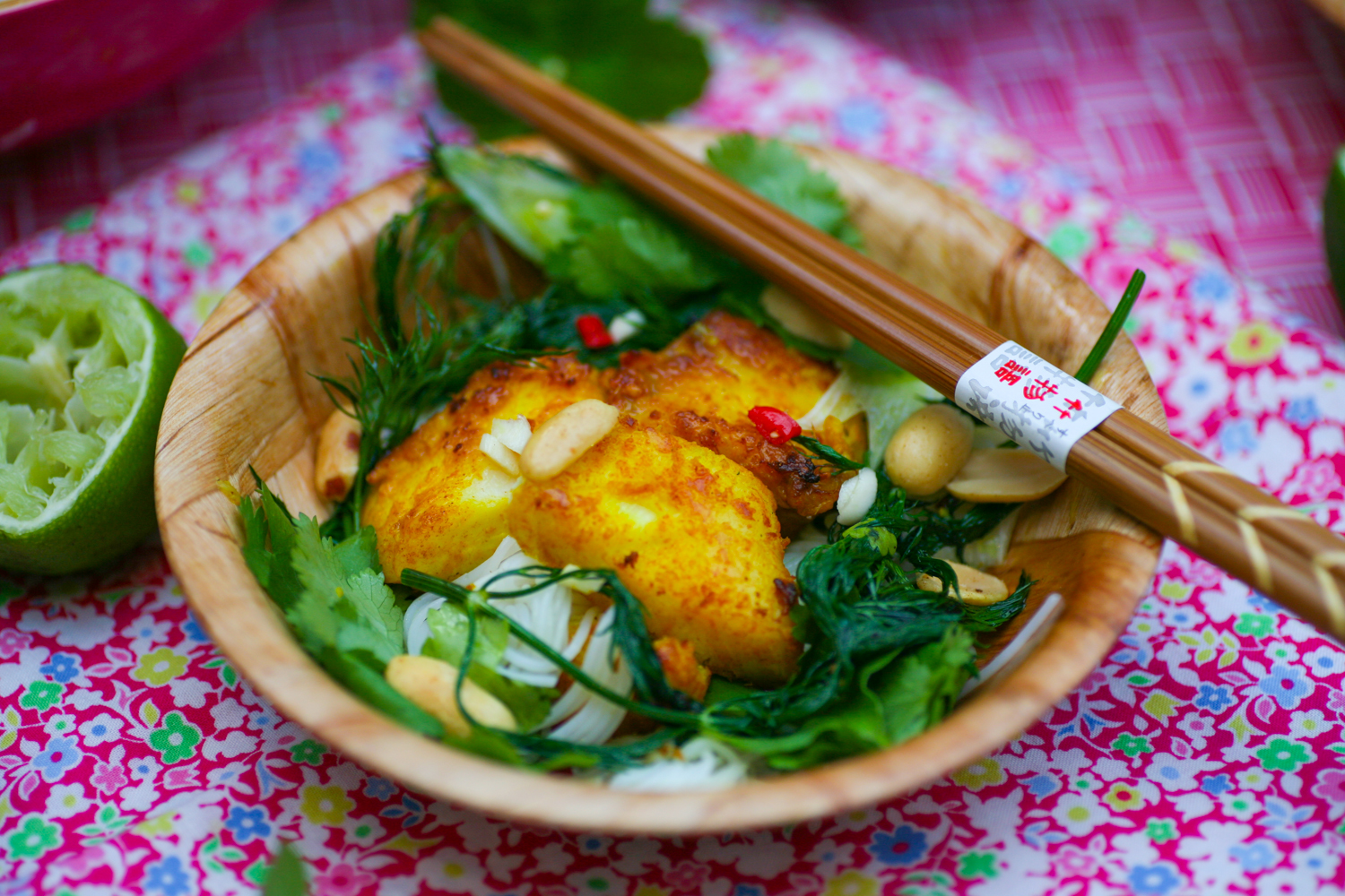 Cha Ca La Vong Vietnamese Fish With Turmeric Ginger And Dill