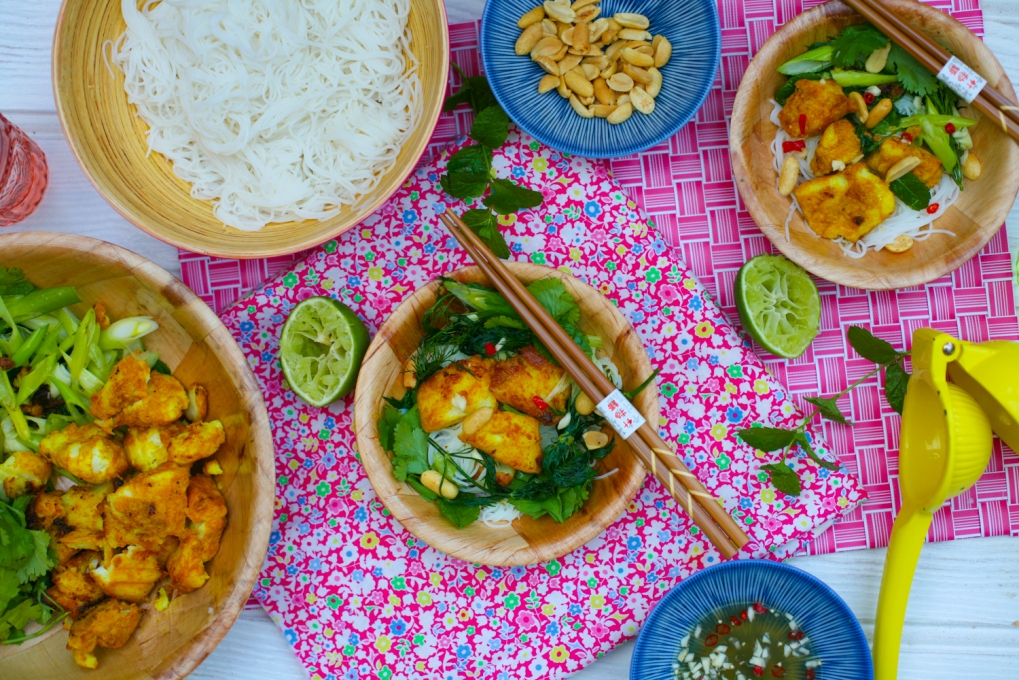 Cha Ca La Vong – Vietnamese Fish with Turmeric, Ginger and Dill