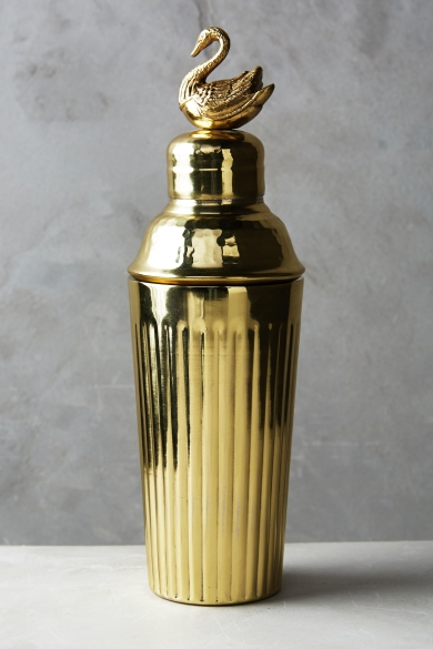 Gleaming Feather Cocktail Shaker £48