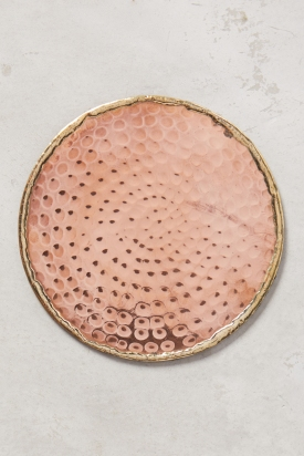 Glimmer Ring Coaster - copper £6