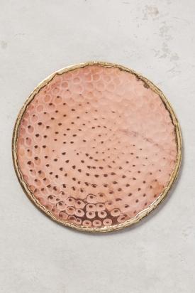 Glimmer Ring Coaster - copper £6