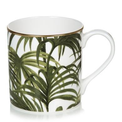 Palmeral Mug White/Green £25