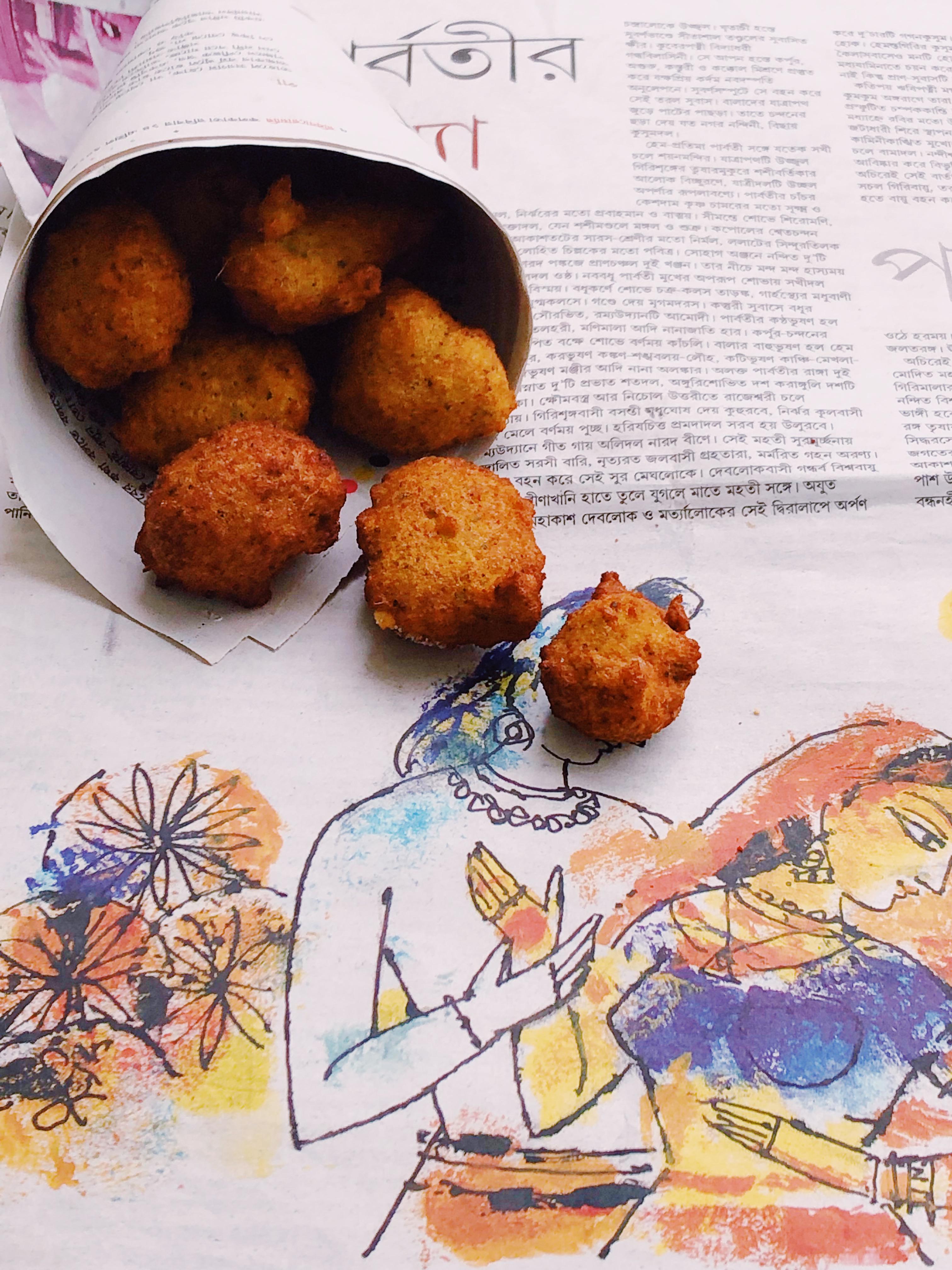 Daler Bora – Bengali Lentil Fritters |